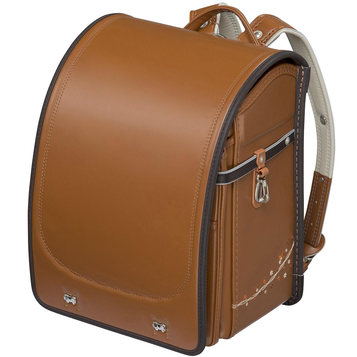 フィットちゃんランドセル プティガールプラス 安ピカッタイプ(FIT-229AW) A4フラットファイル収納サイズ