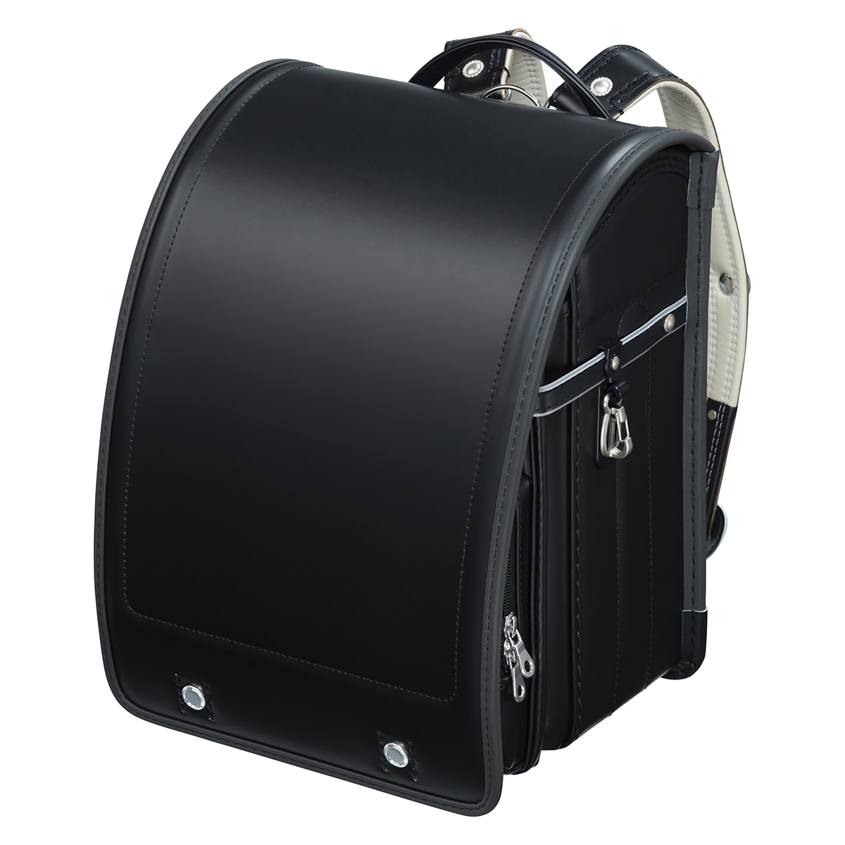 フィットちゃんランドセル 牛革ランドセル 安ピカッタイプ(FIT-238AZ)A4フラットファイル収納サイズ